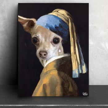 Canvasist Pearl Earring Pet Canvas Review