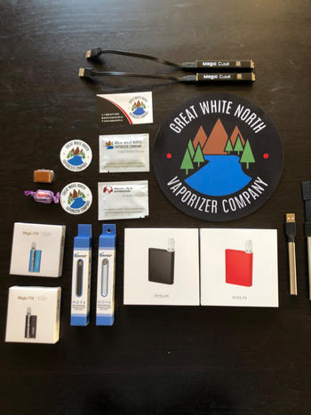 Great White North Vaporizer Company Verified Nova 510 Vape Pen Review