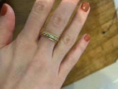 Ferkos Fine Jewelry 14k Gold Twisted Rope Ring Set Review