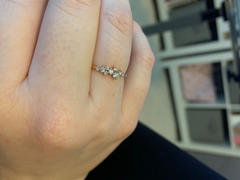 Ferkos Fine Jewelry 14k Gold Diamond Cluster Ring Review