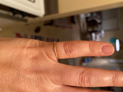 Ferkos Fine Jewelry 14k Gold 3 Stone Minimalist Diamond Ring Review