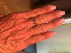 Ferkos Fine Jewelry 14k Gold Minimal Sapphire and Diamond Ring Review