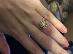 Ferkos Fine Jewelry 14k Stackable Vertical Baguette Diamond Ring Review