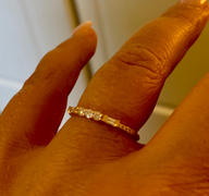 Ferkos Fine Jewelry 14K Gold Three Diamond Equilibrium Ring Review
