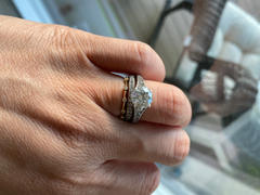 Ferkos Fine Jewelry 14k Gold Diamond Stacking Ring Review