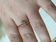 Ferkos Fine Jewelry 14k Gold Diamond Initial Ring Review
