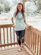 Happily Ever Aften Can't Be Tamed Graphic Tee (Mint) Review