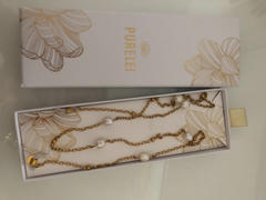 PURELEI PURELEI 'Alima' Brillenkette Gold Review