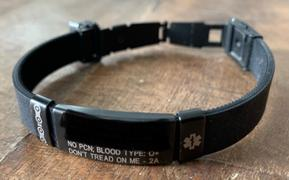 ROAD iD 19mm Silicone Clasp Slate Bands Review