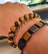 GT collection TIGER EYE Beaded Bracelet | Brown Gemstones | 10mm Beads Review