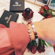 GT collection Women's Beaded Bracelet | Agate, Aquamarine, Howlite, Amethyst Review