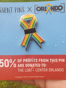 Dissent Pins Orlando Ribbon Project Enamel Pin Review