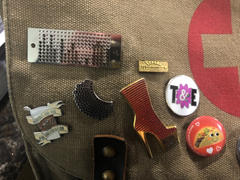 Dissent Pins Ada Lovelace / Punchcard Pin Review