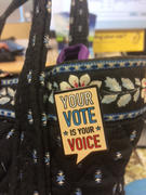 Dissent Pins Your Vote is Your Voice Pin Review
