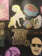 Dissent Pins Pronoun Pin Review