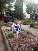 Dissent Pins USPS Forever Yard Sign Review