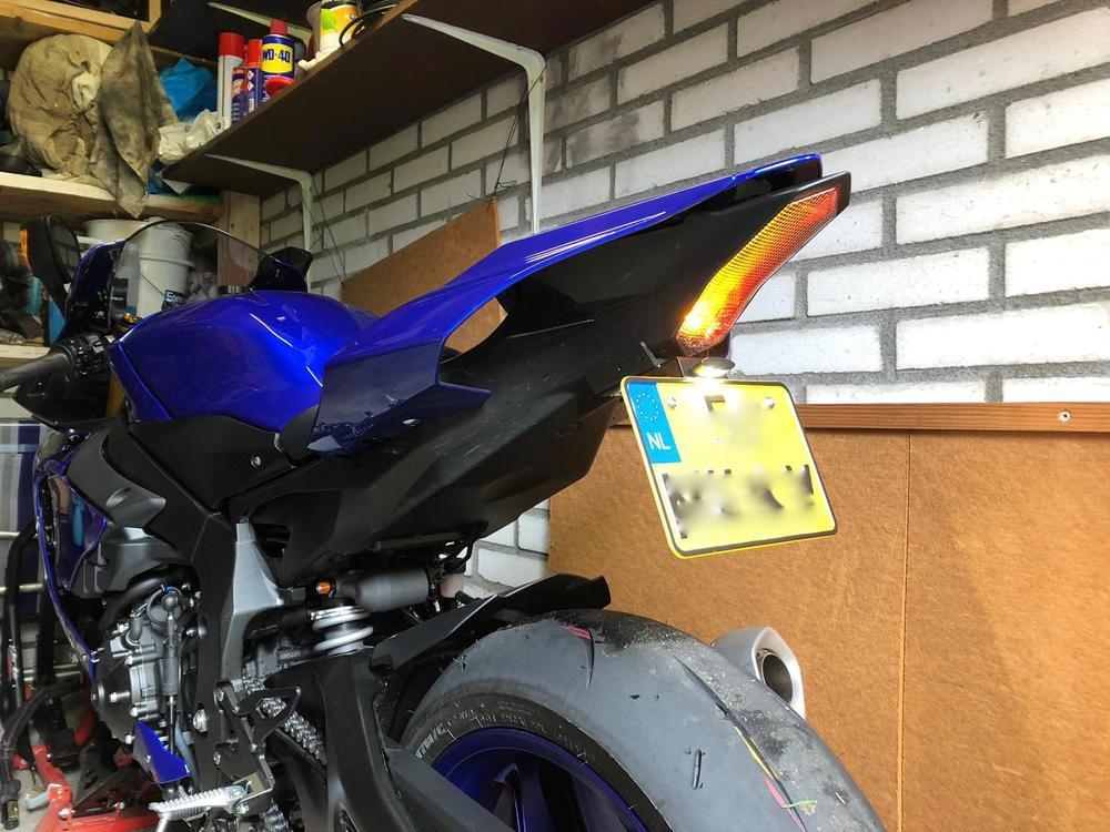 For Yamaha YZF R1 2015-2016 Integrated LED Brake Turn Signal Tail Light Smoke
