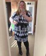 Harlow Diva Slouch Dress - Abstract Review