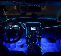 Next Deal Shop Interior Car LED Neon Glow Wire Lighting Strip - Plug and Play with Car Charger! Review