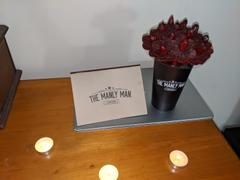 The Manly Man Company® Beef Jerky Flower Bouquet - Black Steel Edition Review