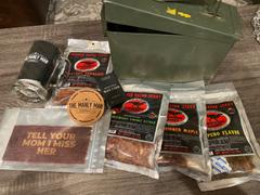 The Manly Man Company® Booze Infused Jerky Ammo Can Review