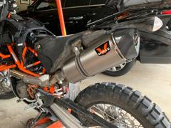 KTM Twins Wings Slip-on Exhaust KTM 690 Enduro/SMC Review