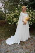 ieie Bridal Medieval Style Chiffon Wedding Dress | Atheena Review
