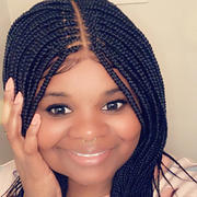 QualityHairByLawlar Box Braids Fully Hand Braided Lace Wig #1 Review