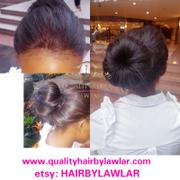 QualityHairByLawlar 360 Lace Frontal Brazilian Straight Human Hair Wig Review
