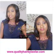 QualityHairByLawlar Brazilian Straight Human Hair 3pcs Bundle & Lace Closure Deal Review
