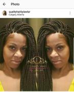 QualityHairByLawlar Box Braids Fully Hand Braided Lace Wig (33) Review