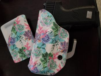 Flashbang Holsters Pastel Succulents Slimline Wallet Review