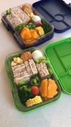 Bambino Love Yumbox Tapas ( 5 compartment) ~Nevis Blue Review
