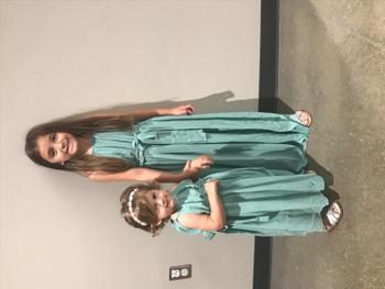 Bailey's Blossoms Avery Maxi Dress - Aqua Review