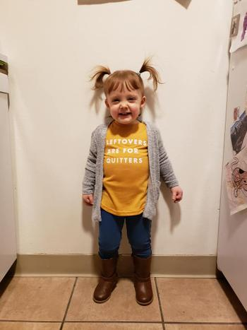 Bailey's Blossoms Leftovers Are For Quitters Long Sleeve Mommy & Me Tee Review
