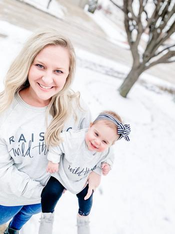 Bailey's Blossoms Wild Things Mommy & Me Pullover Review