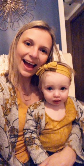 Bailey's Blossoms Alice Mommy & Me Cardigan - Garden Yellow & Gray Review