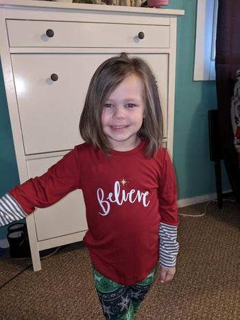 Bailey's Blossoms Believe Long Sleeve Mommy & Me Tee Review
