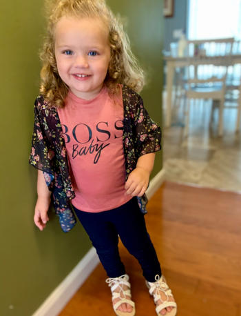 Bailey's Blossoms Boss Mommy & Me Short Sleeve Tee Review