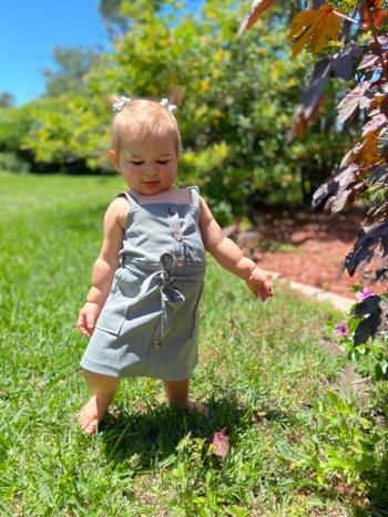 Bailey's Blossoms Sawyer Button Front Mommy & Me Dress - Granite Review