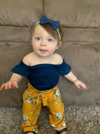 Bailey's Blossoms Mommy & Me Bethany Palazzo Pants- Citrus Blossom Review