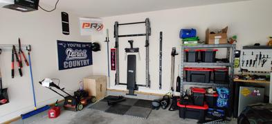 PRx Performance Start: Profile® PRO Squat Rack with Pull-Up Bar - BYO Package Review