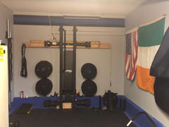 PRx Performance Start: PRx Wall-Mounted Fold-In Murphy Squat Rack with Pull-Up Bar Review