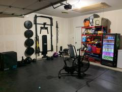 PRx Performance Profile® Squat Rack with Multi-Grip Bar Review
