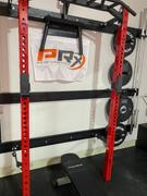 PRx Performance Profile® PRO Squat Rack with Multi-Grip Bar Review