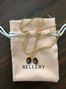 Rellery Double Mini Oval Necklace Review