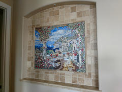 Mozaico Tuscan Sea View Decorative Mosaic Mural Review