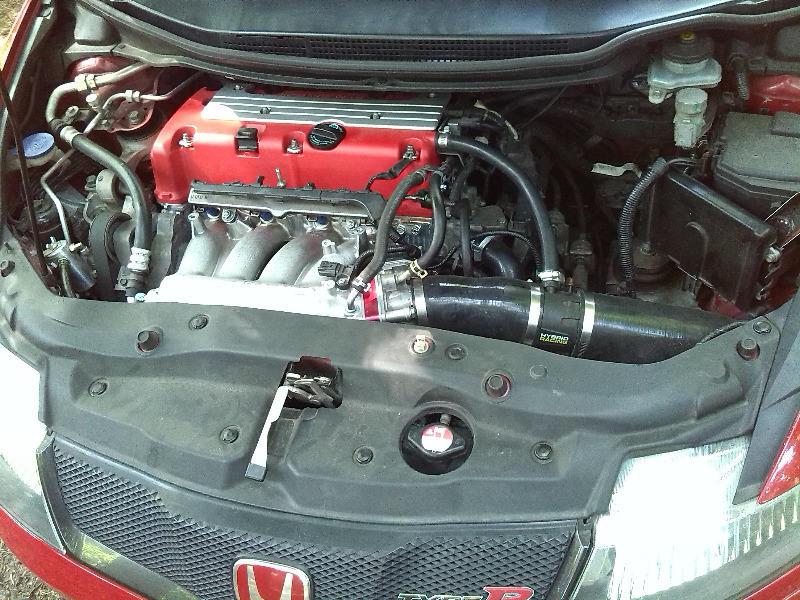06-11 Civic Si Fa5 Fg2 Cold Air Intake System Induction Piping High Flow Polish