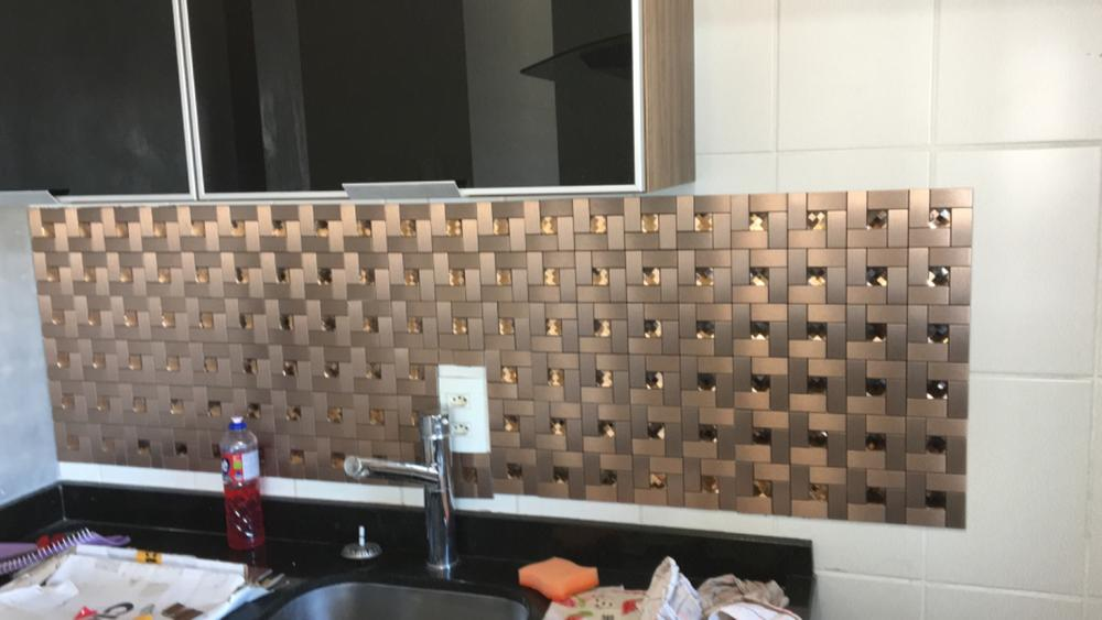 Image of: Pastilha Adesiva Para Revestimento Clerkzdecor Seu Sonho Sua Casa