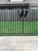 Wrought Iron Haven Wrought Iron House Letter W - 3 Sizes Available Review